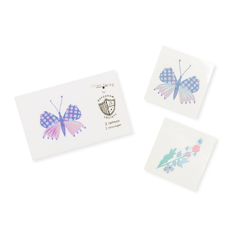 Flutter Tattoos (2 pack)