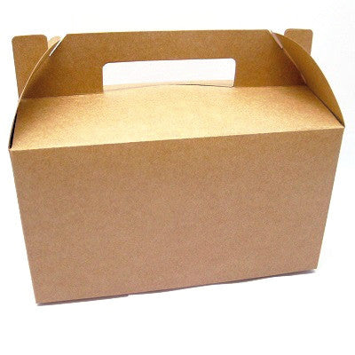 Kraft Gable Party Boxes (10 pack)