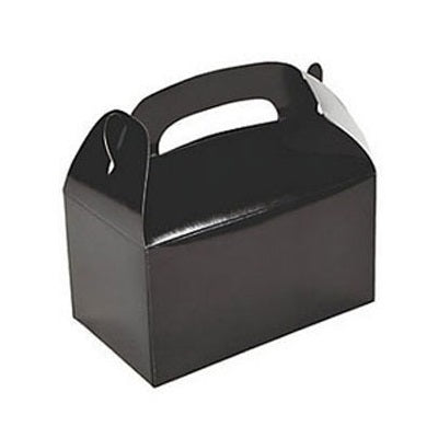 Black Gable Party Boxes (6 pack)