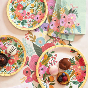 Rifle Paper Co Garden Party Large Plates (10 pack)