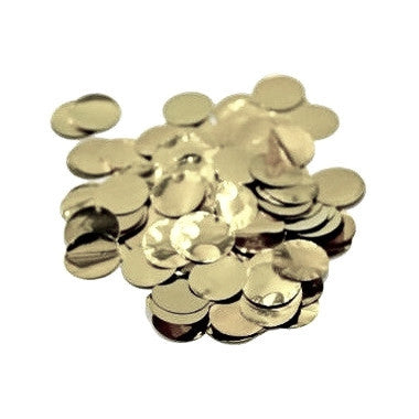 White Gold Metallic Jumbo Confetti