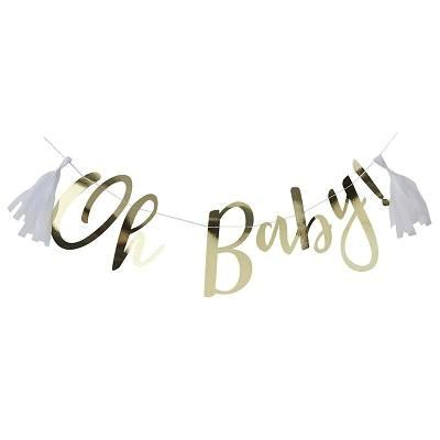 Gold Oh Baby Bunting