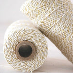 Gold Shimmer Bakers Twine (100m)
