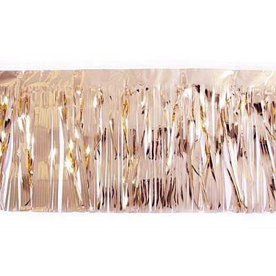 Rose Gold Metallic Fringe Garland