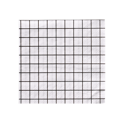 Grid Cocktail Napkins (20 pack)