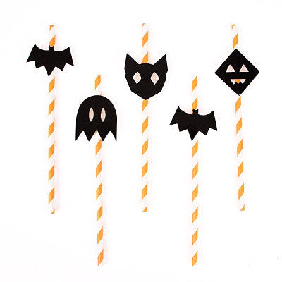 Halloween Paper Straws (12 pack)