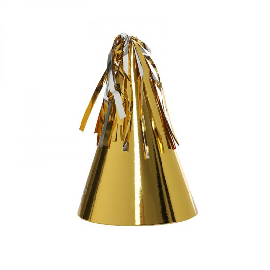 Gold Party Hats (10 pack)