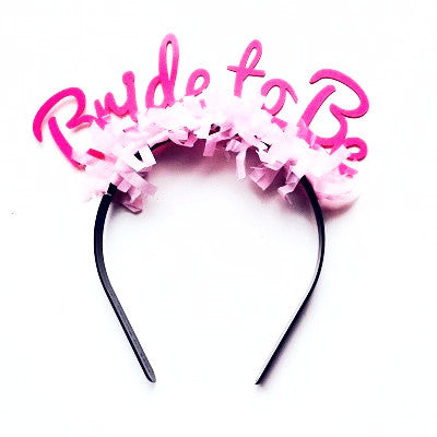 Bride To Be Headband – Ruby Rabbit b7d4e85dbe6