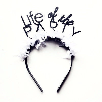 Life of the Party Headband