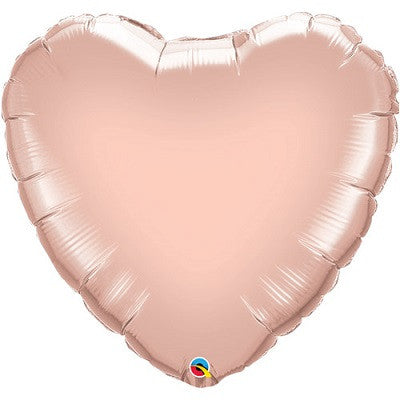Rose Gold Foil Giant 90cm Heart Balloon