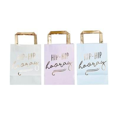 Hip Hip Hooray Party Bags (5 pack)
