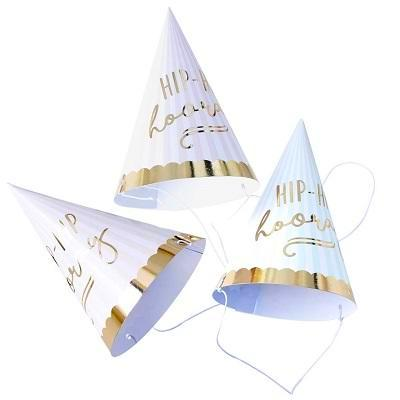 Hip Hip Hooray Party Hats (6 pack)