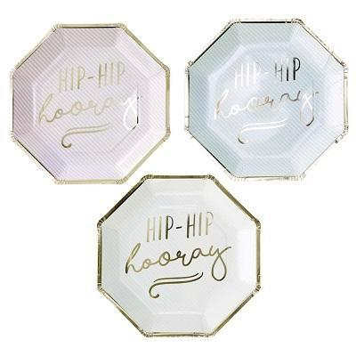 Hip Hip Hooray Plates (8 pack)