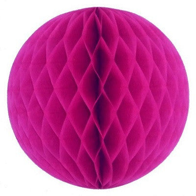 Hot Pink Honeycomb Ball