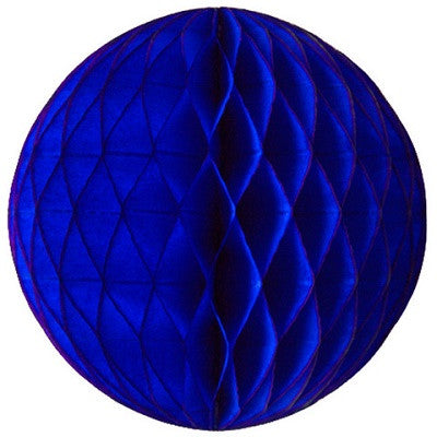 Dark Blue Honeycomb Ball 30cm