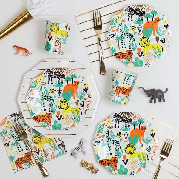 Into The Wild Dessert Plates (8 pack)