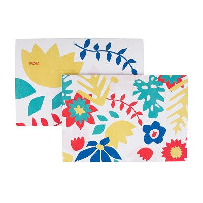 Tropical Flower Invitations (8 pack)