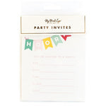 Hooray Invitations (8 pack)
