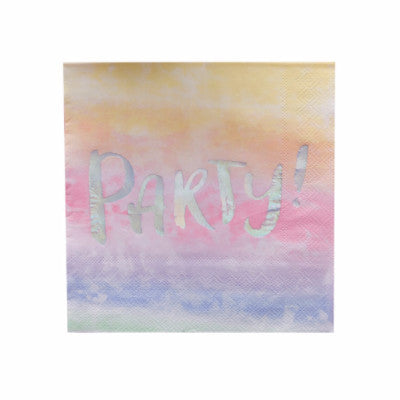 Iridescent Party! Napkins (20 pack)