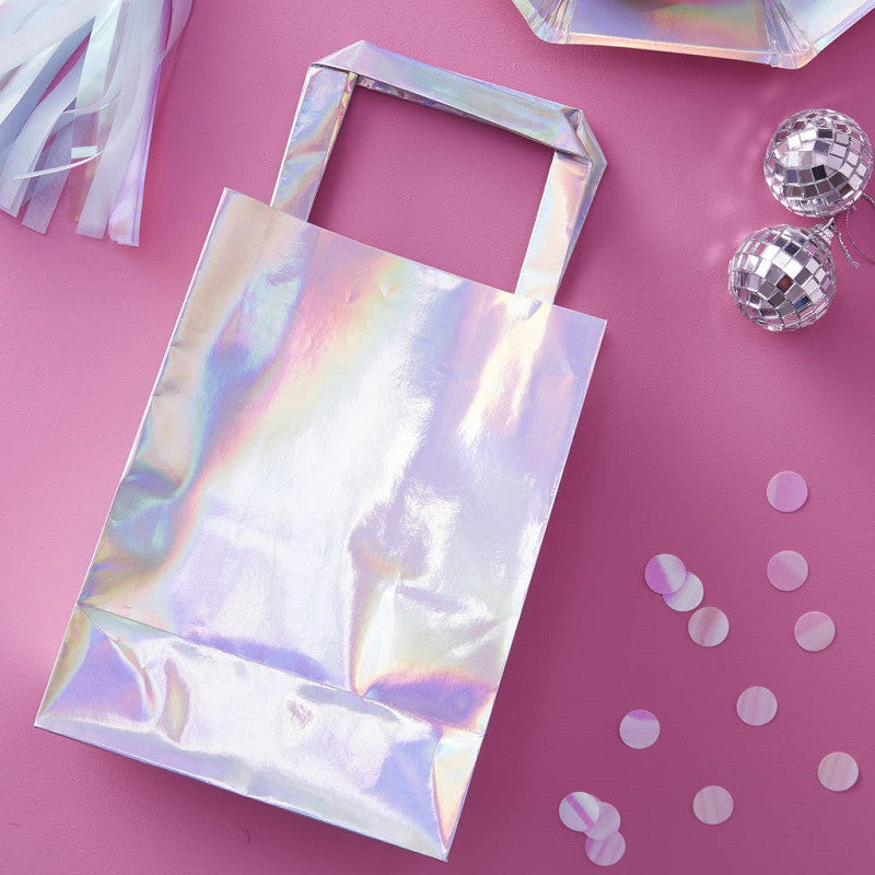 Iridescent Party Bags (5 pack)