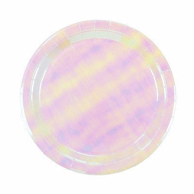 Iridescent Plates (12 pack)