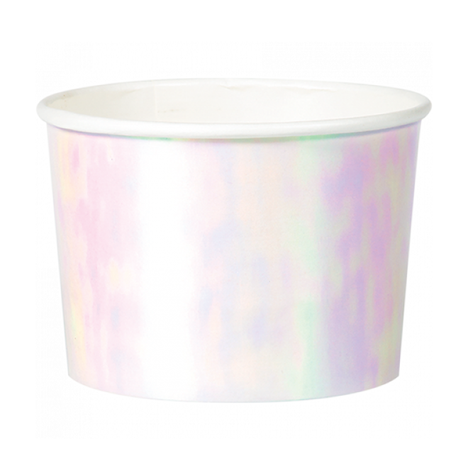 Iridescent Treat Cups (6 pack)
