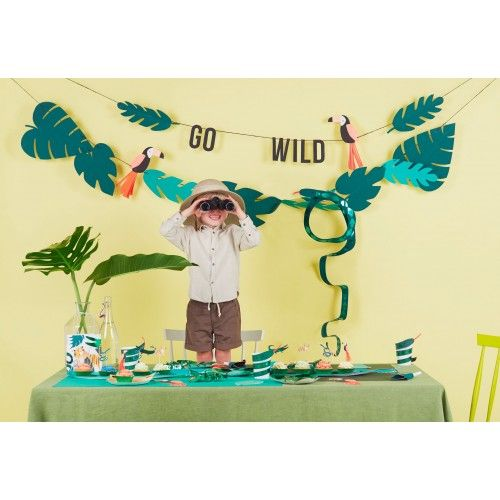 Go Wild Party Bags (8 pack)