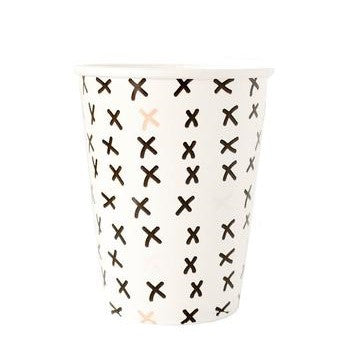 White Cross Cups (8 pack)
