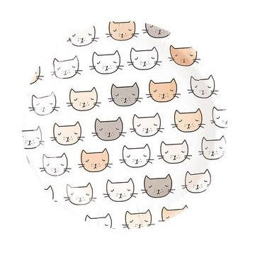 Kitten Party Large Plates (8 pack)