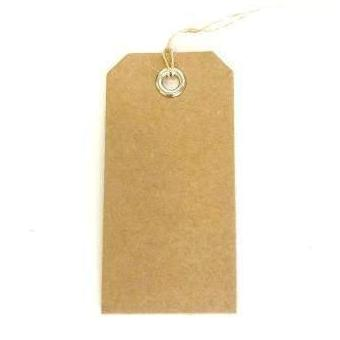 Kraft Gift Tags (12 pack)