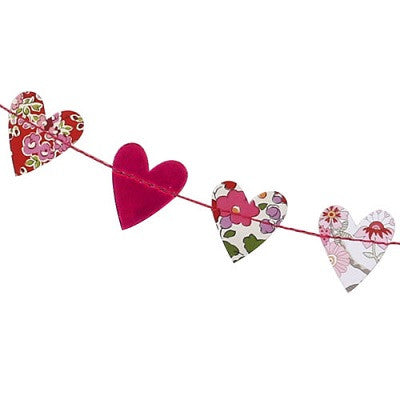 Liberty Mini Heart Garland