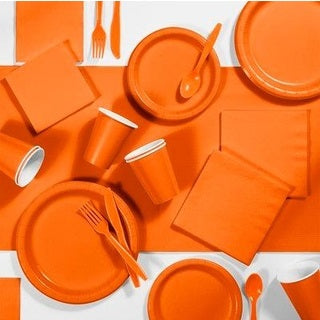 Sunkissed Orange Party Cups (24 bulk pack)