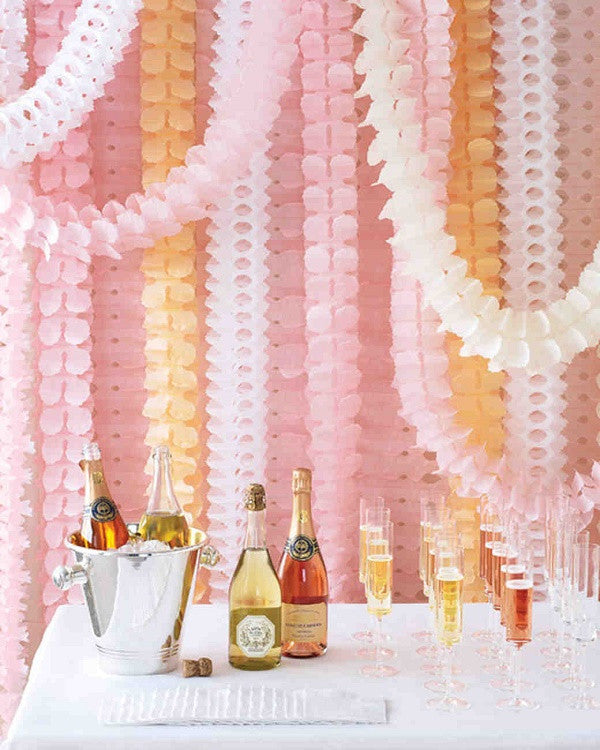 Pink Honeycomb Garland (4m)