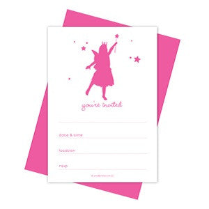 Little Fairy Party Invitations (10 pack)