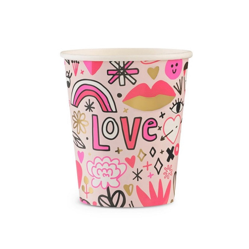 Love Notes Cups (8 pack)