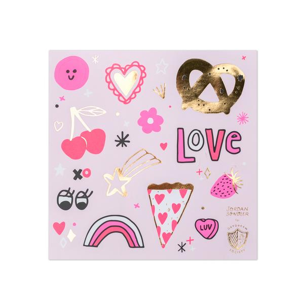 Love Notes Stickers (4 sheets)