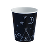 Black Teepee Cups (8 pack)
