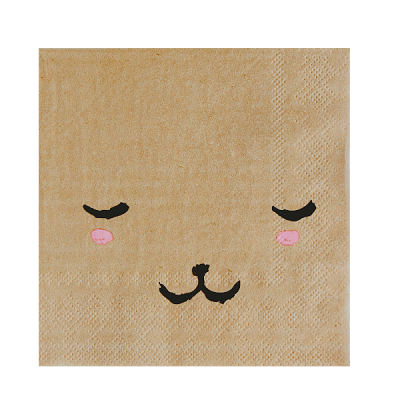 Bear Face Napkins (20 pack)