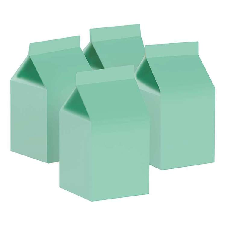 Mint Green Milk Boxes (10 pack)