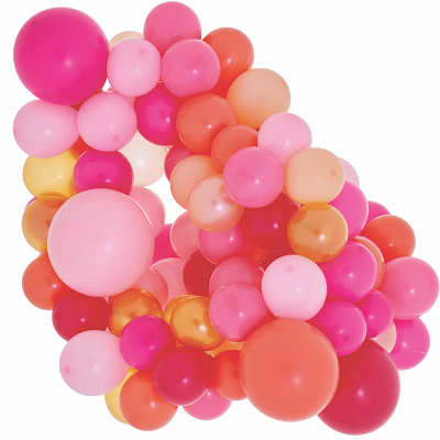 Pink Shimmer Mini Balloon Cloud