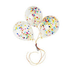 Mini Happy Confetti Balloons (3 pack)