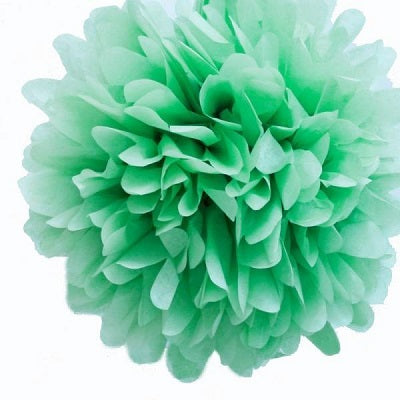 Mint Green Tissue Pom Pom