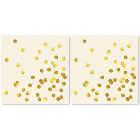Kate Spade Gold Dot Napkins (40 pack)
