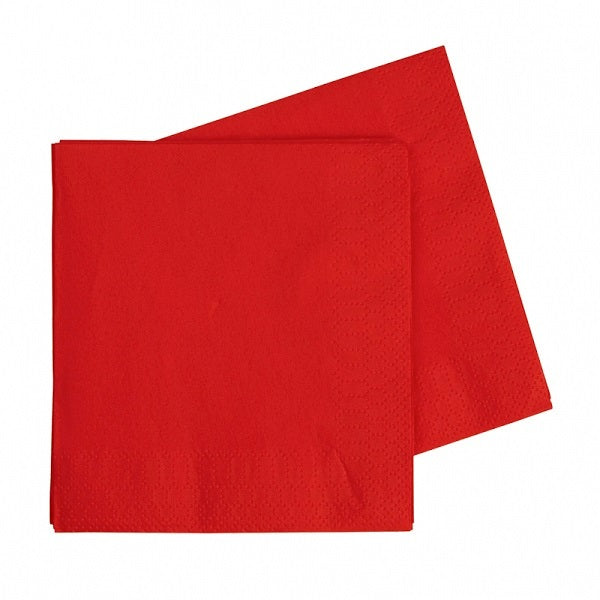 Red Napkins (40 pack)