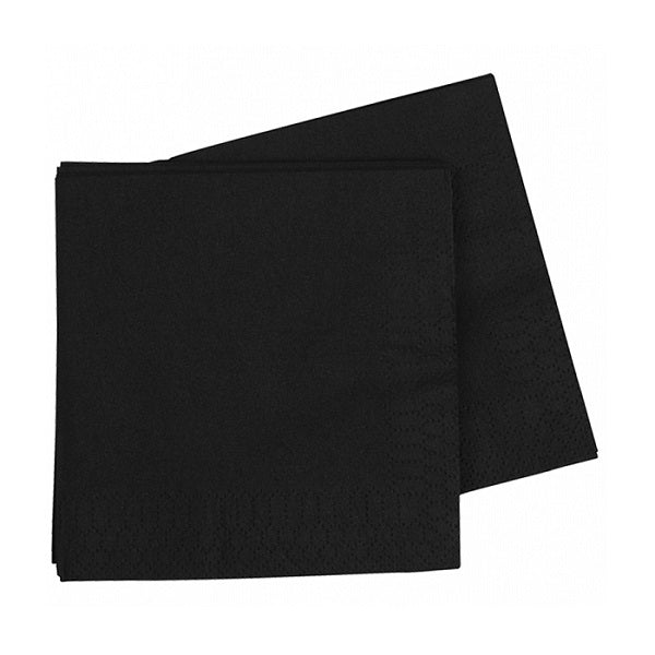 Black Napkins (40 pack)