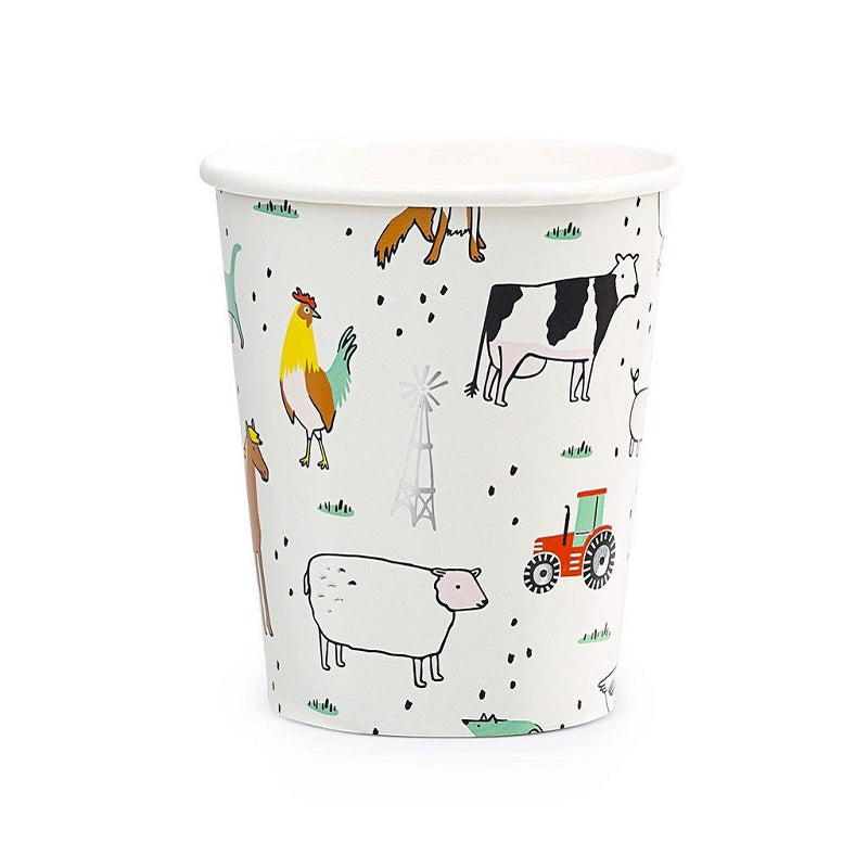 On The Farm Cups (8 pack)