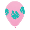 Palm Leaf 30cm Balloons (3 pack)