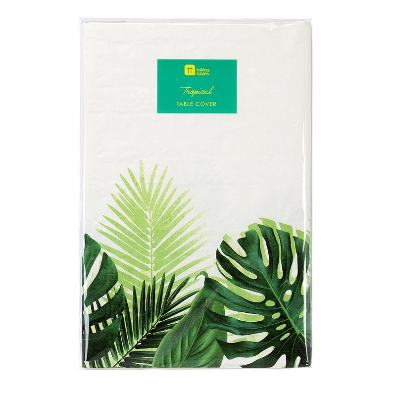 Tropical Palm Leaf Tablecloth