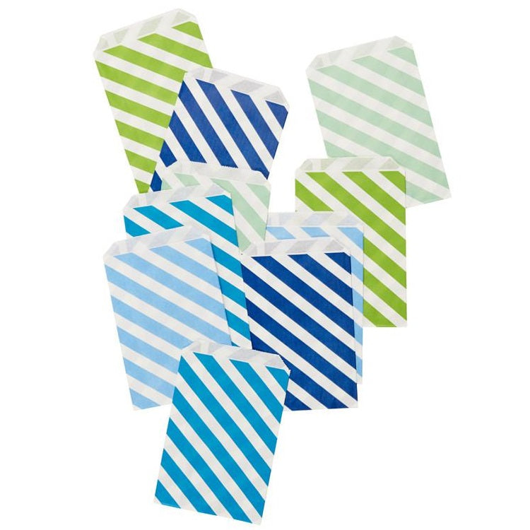 Handsome Stripe Party Bags (10 pack)