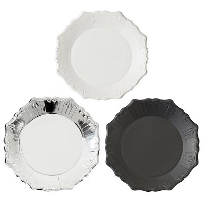 Party Porcelain Plates (12 pack)
